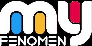 my fenomen white logo